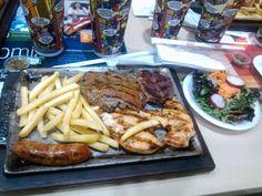 Parrilla 3 carnes de Don Jediondo. Bogota, Colombia