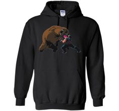 Overwatch Zarya Bear Spray Tee Shirt cool shirt