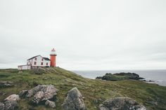 got to go to ferryland, newfoundland! Canada Tumblr, Newfoundland Canada, Feeling Lonely, What Is Like, Lighthouse, Townhouse, Remote, Washington, To Go