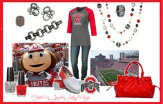 Here's what I'll be rocking at the game this season.  O-H!