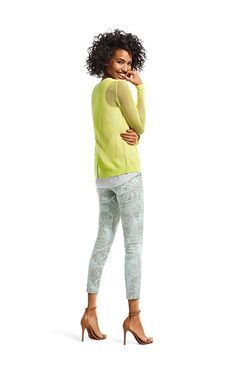Fun spring fashions from @cabiclothing - Loving the citron! AD