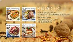 Παραδοσιακές ελληνικές γεύσεις… «σερβίρουν» τα Ελληνικά Ταχυδρομεία στα φετινά γραμματόσημα της Ειδικής Σειράς EUROMED, που κυκλοφορεί τη Δευτέρα 20 Ιουλίου. Πρόκειται για γραμματόσημα που εκδίδονται κάθε χρόνο από τις χώρες που περιβάλλουν τη Μεσόγειο – Ευρωμεσογειακή Ταχυδρομική Ένωση (Euromed Pos... Cereal, Traditional, Breakfast, Food, Morning Coffee, Essen, Meals, Yemek, Breakfast Cereal