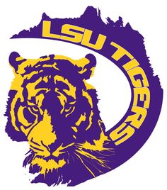 lsu tigers wordmark logo 0 lsu pinterest tigers logos and rh pinterest com lsu logos eye tiger lsu logos through the years