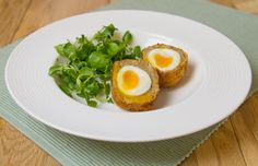 Curried Scotch Eggs using Schwartz products