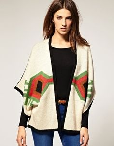 Warehouse Aztec Cardigan - StyleSays