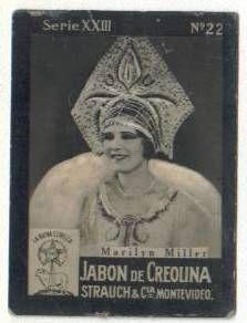 Marilyn Miller Dancer   Marilyn Miller 1920s Tobacco Card