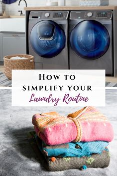 How To Simplify Your Laundry Routine — Plum Cheeky Solutions-Lovin' This Homeschool Mom Life Spring Cleaning List, House Cleaning Tips, Diy Cleaning Products, Cleaning Hacks, Laundry Schedule, Mom Schedule, Laundry Sorting, Diy Laundry Detergent, Folding Laundry