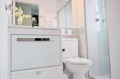 Tem banheiro para todos os gostos: neutros, coloridos e com revestimentos estampados. Navegue pela galeria e inspire-se!