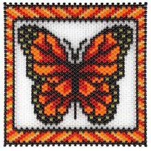 Red Butterfly Beaded Banner Kit - Herrschners