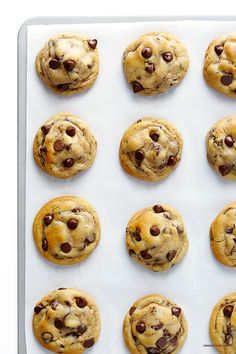 My All-Time FAVORITE Chocolate Chip Cookie Recipe -- soft, chewy, and perfectly delicious!   gimmesomeoven.com