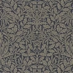 Pure Acorn tapeter från William Morris hos Engelska Tapetmagasinet. WM179-01 tapeter. Köp fraktfritt online eller besök butiken i Göteborg.