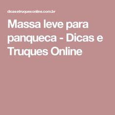 Massa leve para panqueca - Dicas e Truques Online