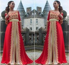 Caftan Rouge 2015 - Vente Takchita France & Maroc | Caftan Marocain Boutique