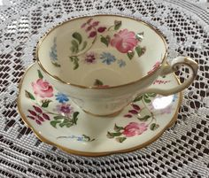A personal favorite from my Etsy shop https://www.etsy.com/ca/listing/506106584/vintage-foley-bone-china-tea-cup-and