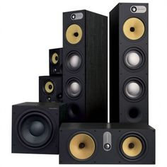 The B&W 683 Theatre is the reference 600 Series home theatre system, put together to fill large, open spaces effortlessly with the richest, most realistic sound. Speaker Amplifier, Hifi Speakers, Hifi Audio, Yamaha Speakers, Tower Speakers, High End Speakers, High End Audio, Home Theater, Cinema Theater