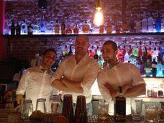 Los mejores Bartender:  @Luis Inchaurraga - @ArturoMontaner & @AlbertoMaestre