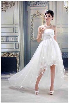 Short Long Wedding Dresses