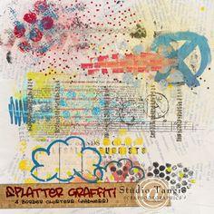 Splatter Graffiti [Borders] Madness - Tangie Baxter rocks!!