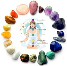 crystal healing session. Get to know your chakras !