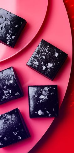 salted black licorice caramels