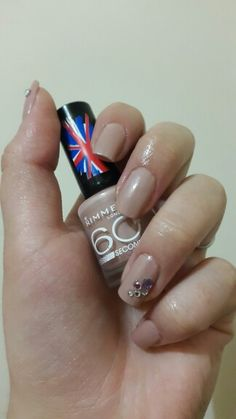 My rimmel glamour nails