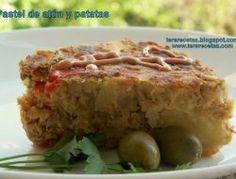 Pastel de atún y patatas