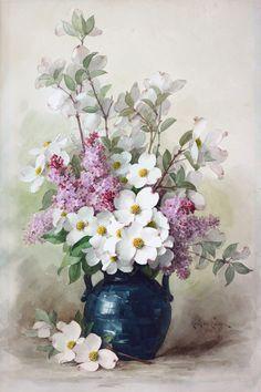 842 Meilleures Images Du Tableau Vases Avec Fleurs En Peinture
