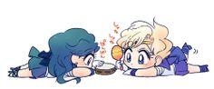 Sailor Moon / Neptune and Uranus