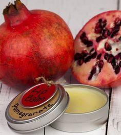 Homemade-Pomegranate-Lip-Balm
