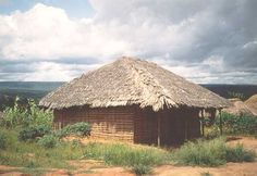 "A Tazanian ""mud-hut"" African Hut, Mud Hut, Tanzania, My Dream Home, Primitive, House Styles, My Dream House, Primitives"