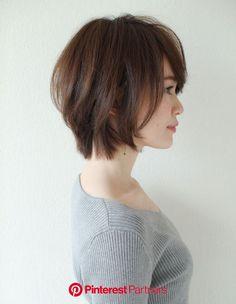 Pin on ボブ Medium Short Haircuts, Short Hairstyles Fine, Medium Hair Cuts, Short Hair Cuts, Japanese Short Hair, Asian Short Hair, Asian Hair, Hair Color And Cut, Cut My Hair