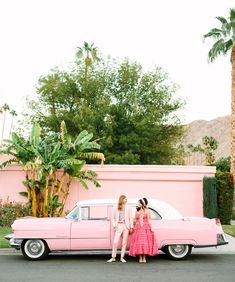 Aww Sam's Positively Pink + Floral-Filled Palm Springs Elopement - Green Wedding Shoes