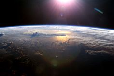 50 Years Ago: Yuri's Planet  Credit: ISS Expedition 7 Crew, EOL, NASA    On April 12th, 1961, Soviet cosmonaut Yuri Alexseyevich Gagarin became the first human in space... His view could have resembled this image taken in 2003 from the International Space Station... (http://apod.nasa.gov/apod/ap110412.html)