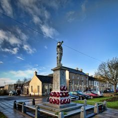The War Memorial, Moy Square County Tyrone.