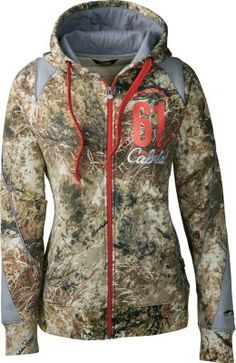 This is a new women's hoodie in camo! Cabela's ColorPhase camo is no ordinary camo. It actually changes colors to best match the conditions.