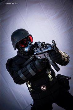 Heavy trooper umbrella corporation