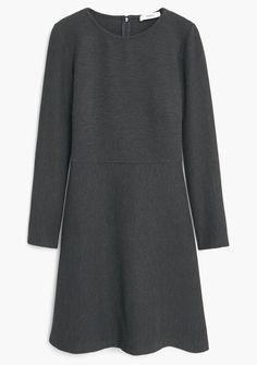 MANGO Berry-S Kleid grau