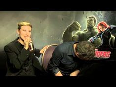 COSMOPOLITAN.CO.UK flip sexist questions on The Avengers Scarlett Johansson and Mark Ruffalo - YouTube