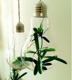 Licht Lampe Glas hängenden Pflanzer Container Vase Topf Startseite Hochzeit Dekoration Wand