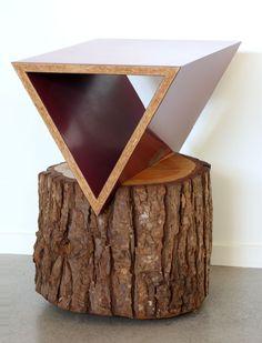 Cedar Wedge by Martino Gamper