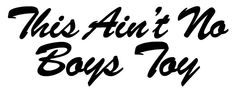 silly boys trucks are for girls window decal - Google Search