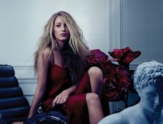 Blake Lively looks messy and romantic in this shot, which captures the essence of Very Sexy.