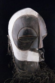 Songye Kalebwe, D.R. Congo.  Kifwebe (mask) of the Bwadi Bwa Secret Society
