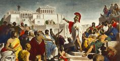 knowing the roots of classical athenian democracy is essential to understanding our own. The roots of our own democracy are instituded in this ancient greek culture. Athenian Democracy, Ancient Greek Democracy, Classical Athens, Classical Period, George Patton, Historia Universal, Art Of Manliness, Frederic, The Orator