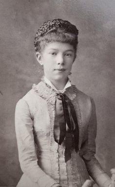 Archduchess Marie Valerie of Austria. 1880s