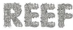 REEF Typeface by Travis Poffenberger, via Behance