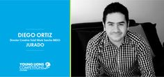 Diego Ortiz es uno de los creativos más premiados y llega a la lista de jurados de #YoungLionsCo.  Estudió Publicidad y Mercadeo en la Universidad Los Libertadores de Bogotá y actualmente cursa un diplomado en Gerencia en ADEN International Business School. Ha trabajado en dos de las más importantes agencias de publicidad en Colombia: Sancho BBDO y Ogilvy & Mather; actualmente es Director Creativo Total Work en SANCHO BBDO.
