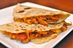 BBQ Chicken Quesadillas on MyRecipeMagic.com