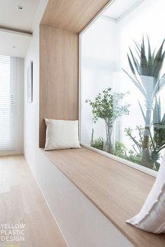 Wood의 편안함 vs 구조의 편안함. 48평 아파트 인테리어 [옐로플라스틱 / yellowplastic /옐로우플라스틱] : 네이버 블로그 Home Room Design, House Design, Interior Design Solutions, Interior Architecture, House Exterior, House Inspiration, House Interior, Home Interior Design, Minimalist Home