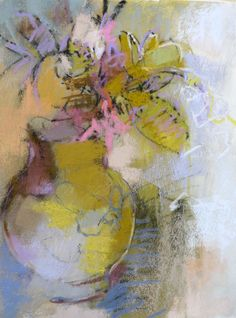 Petite Bouquet 12x9 pastel on paper by  Debora Stewart FW Gallery Baton Rouge